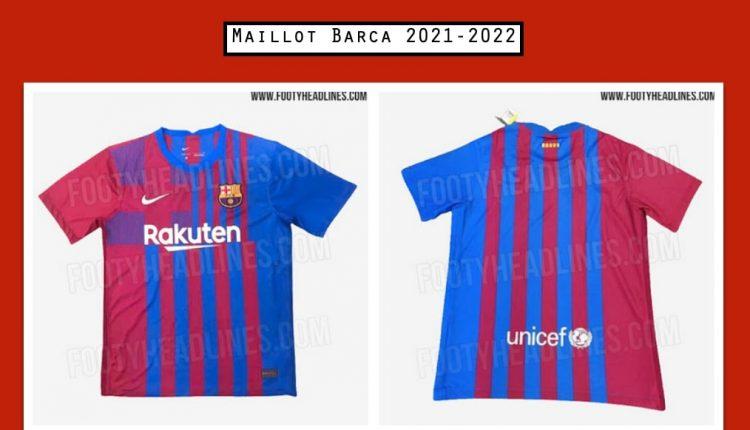 Maillot Barca 2021-2022